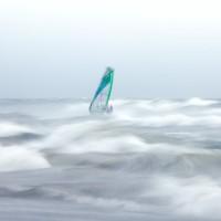 Southbourne windsurfer