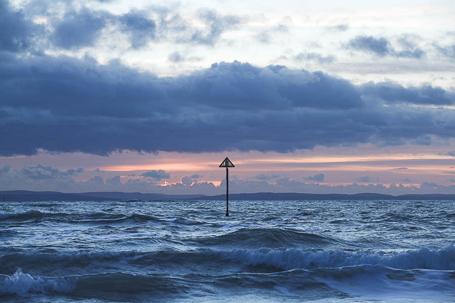 West Wittering sea