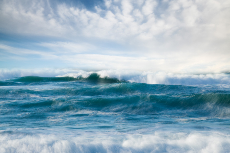 Waves with sky II