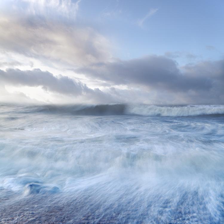 Milford winter sea