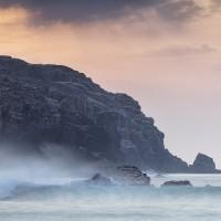 Dhail Beag cliffs